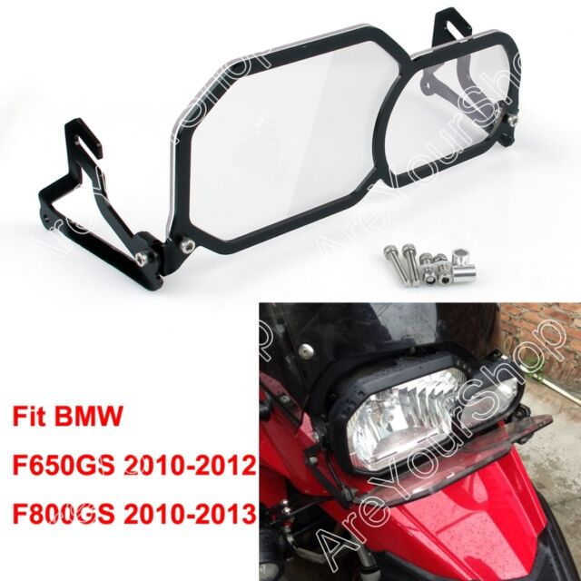 Clear Front Headlight Guard Cover Lens Protector For BMW F650GS F800GS F650 F800