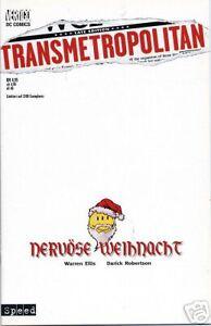 TRANSMETROPOLITAN (deutsch)  SPECIAL Nervöse Weihnacht VARIANT lim. DC VERTIGO
