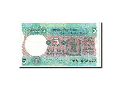 Km:80r India Honest 1975 Unc 5 Rupees #118361 65-70 Limpid In Sight