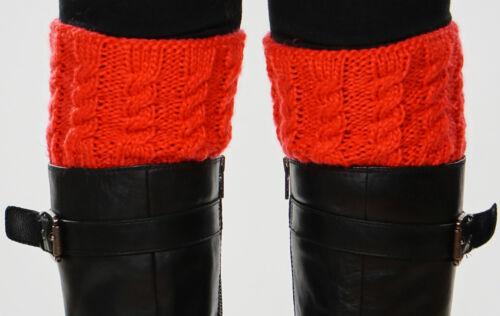 Women/'s Knit Boot Cuffs Topper 15 Colors!