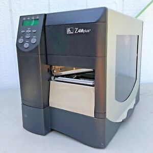 Zebra-Z4MPlus-Industrial-Thermal-Printer-Z4M00-3001-0020-Serial-Ethernet-300-DPI