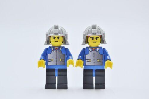 LEGO 2 x personaggio MINI PERSONAGGIO NINJA SAMURAI Blue Young cas055 da Set 6093 4805 6088