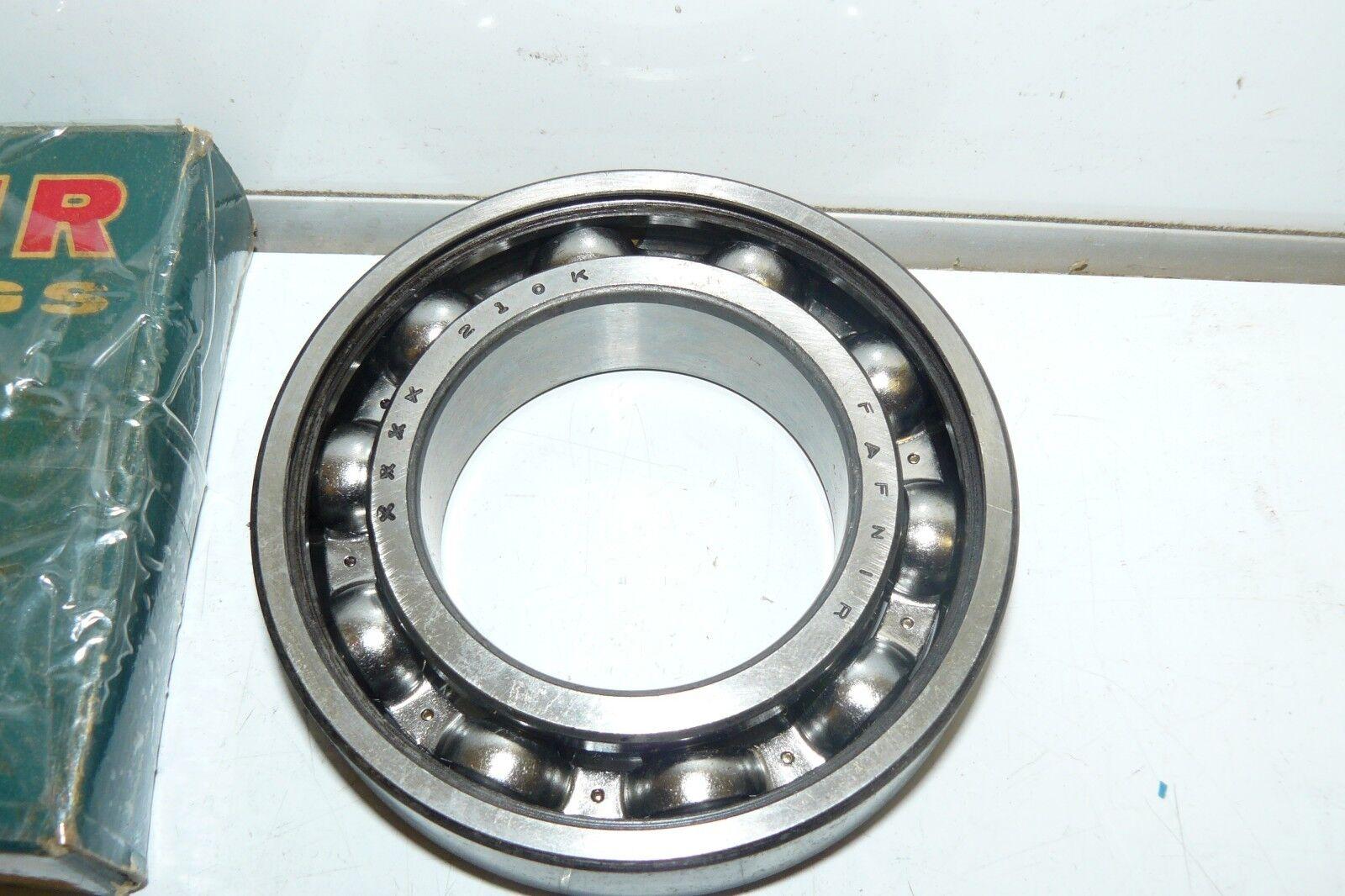 FAFNIR 210K BEARING OPEN 210 K 6210-C3 50x90x20 mm USA