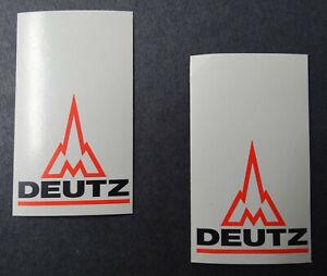 2 Stück-aufkleber Magirus Deutz Logo Small Khd Cologne Truck Tractors Motors
