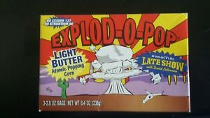 Rare-unopened-explod-o-pop-popcorn-prize-from-the-late-show-with-david-letterman