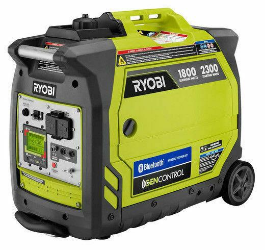 Ryobi Ryi2300bta 2300 Watt Gasoline Powered Bluetooth Inverter Generator For Sale Online Ebay