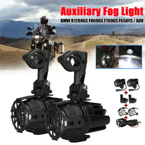 Moto-LED-Feux-Brouillard-Garde-Harnais-Pour-BMW-R1200GS-ADV-F800GS-F700GS-F650GS