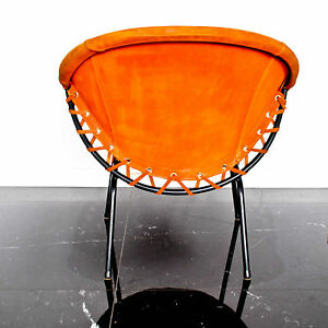 Merveilleux Image Is Loading Orange Suede UFO BALLOON Chair For Lusch Amp