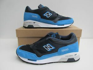 buy popular 2bf1e b9669 Details about bnib NEW BALANCE 1500 EBN UK 10.5 Navy leather / Royal Blue  Suede