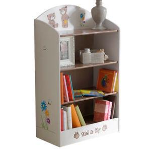 Kinderzimmer Standregal CD Regal Bücherregal Aufbewahrung Spielregal ...