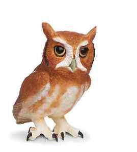 Eastern Screech Owl #263429 ~Lifesize 1:1 New for 2013~ FREE SHIP w $25+ SAFARI