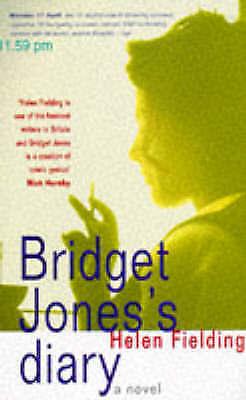 """""""AS NEW"""" Fielding, Helen, Bridget Jones's Diary: A Novel, Book"""