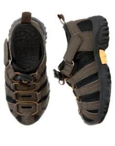 GYMBOREE-Bike-Explorer-Brown-Terrain-Shoes-Sizes-Toddler-4-6-7-8-9-NEW