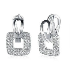 Pave-18K-White-Gold-Plated-Pave-Square-Earring-made-with-Swarovski-Crystals