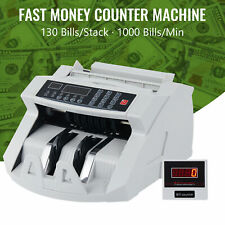1000min Currency Counter Machine Bank Note Counting Machine For 130 Bill Stacks