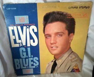 Elvis-Presley-G-I-Blues-1964-Stereo-LP-RCA-Victor-LSP-2256