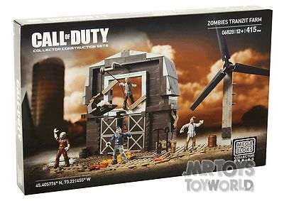 Mega Bloks Call Of Duty Zombie Tranzit Farm 06828