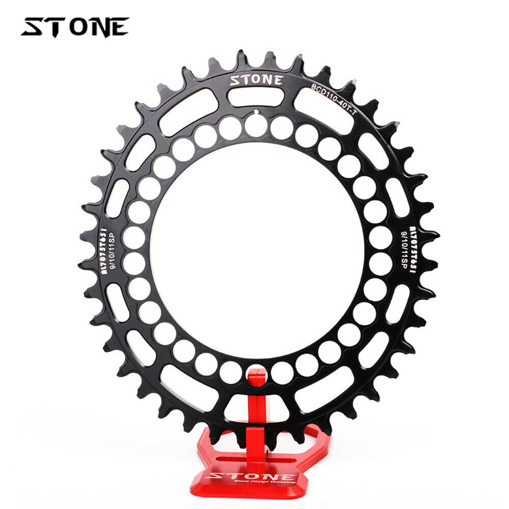 Stone Road CX Oval Chainring BCD 110mm For SHIMANO SRAM FSA Rotor Chainwheel 12s