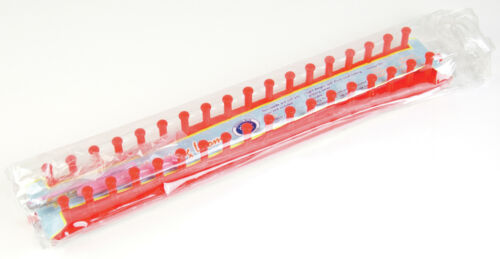 Classic Knit Straight Knitting Loom 38cm Assorted Colours Available!