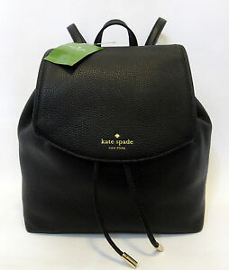 Image Is Loading Kate Spade Small Breezy Mulberry Street Backpack Black