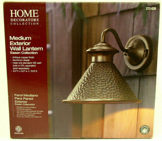 Home Decorators Collection Wall Mounted Essen 1 Light