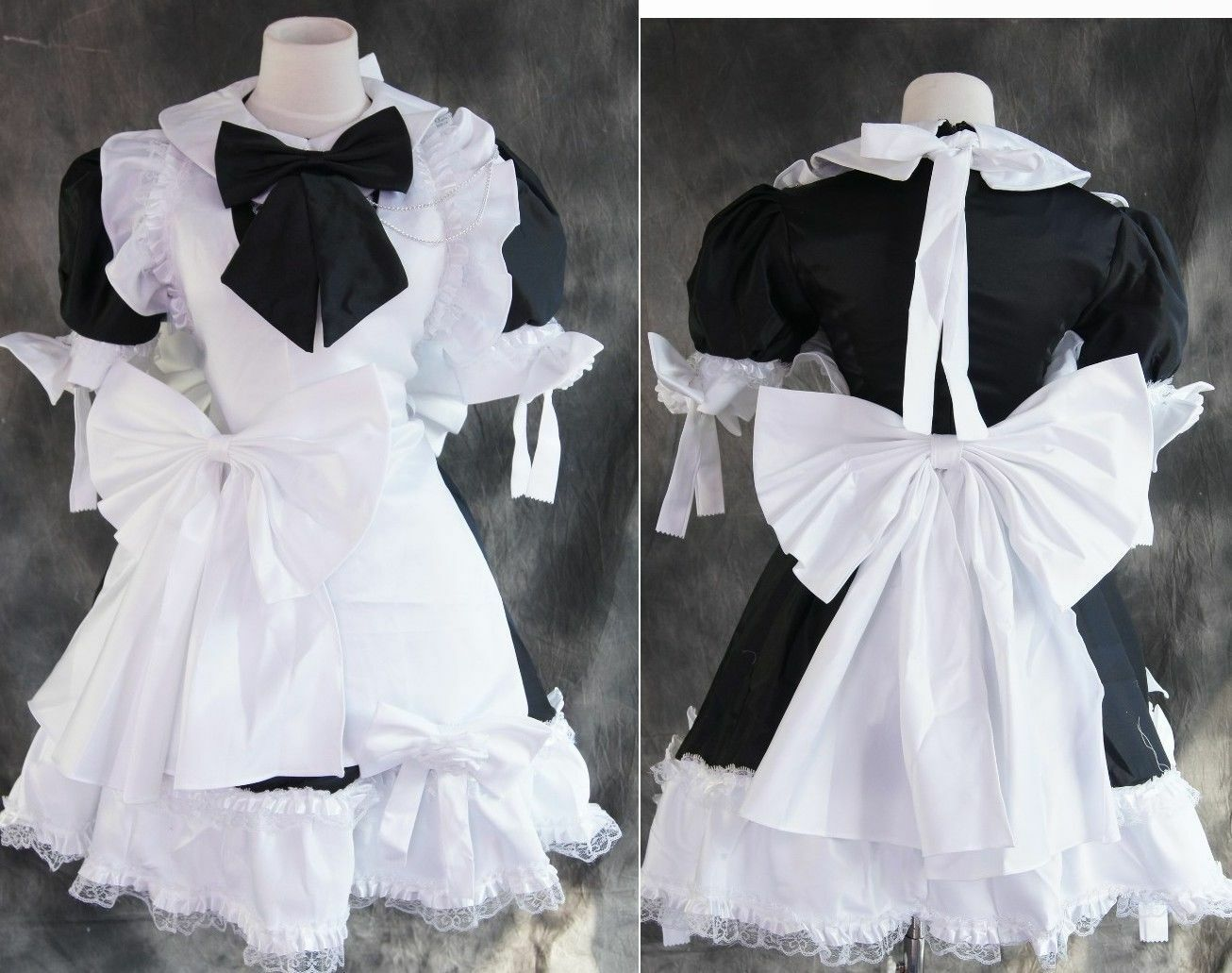 A-023 s/M/L/xl/xxl brièveHommes t t t Lolita Maid uniforme cosplay costume costume robe dress bca05a