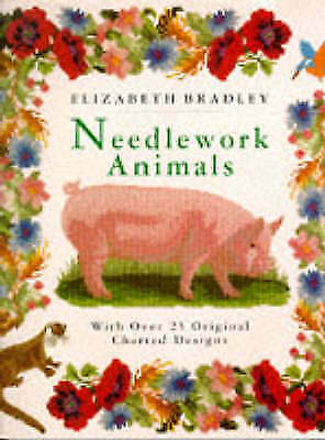 Needlework Animals : With Over 25 Original Charted Designs-ExLibrary
