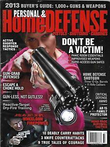 Personal-And-Home-Defense-Magazine-Shotguns-Road-Rage-Survival-Tactics-Ammo-2013