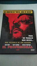 """DVD """"LEON EL PROFESIONAL"""" COMO NUEVO LUC BESSON JEAN RENO NATALIE PORTMAN"""