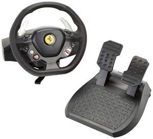 Volante-Thrustmaster-Ferrari-458-Italia-PC-Xbox-360-cambio-secuencial-y-pedales