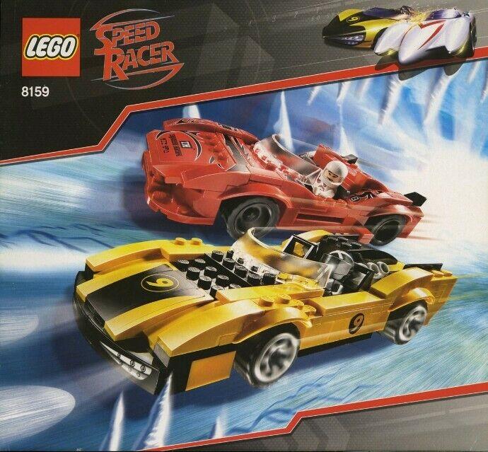LEGO Speed Racer   8159 - Racer X & Taejo Togokhan - NEUF NEW, SCELLÉE SEALED