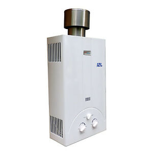 Image Is Loading NEW OUTDOOR LPG PROPANE GAS TANKLESS WATER HEATER