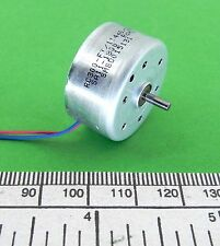 Electric motor - miniature solar type - 2 volt , 25 mm diameter ref: RC300-FT