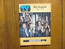 Aug. 5, 1979 Santa Ana, Ca. Register TV Mag(PRISONER/PEITA  TOPPANO/DAVID DOYLE)