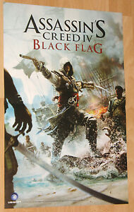 Assassins Creed 4 Black Flag rare double sided mini Poster 45x30cm - Bielefeld, Deutschland - Assassins Creed 4 Black Flag rare double sided mini Poster 45x30cm - Bielefeld, Deutschland