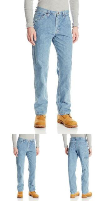 b202b295 Men's Dungarees Losse-Fit Carpenter Jean 38W x 34L Retro Stone 75% Cotton 25