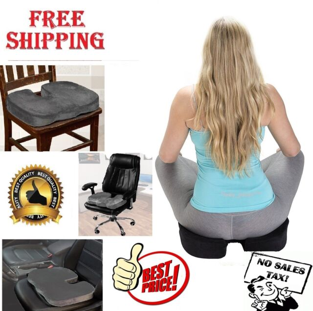 Ergonomic Orthopedic Coccyx Seat Cushion For Back Pain Relief Posture