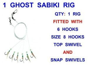 MICRO SABIKI RIGS  BAIT RIGS SAND EEL RIGS SARDINE RIGS.