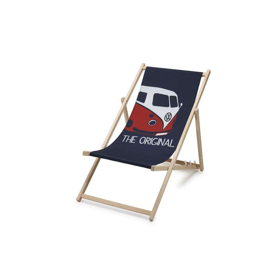 Volkswagen matrícula t1 silla de camping originales de VW silla tumbona accesorios silla plegable