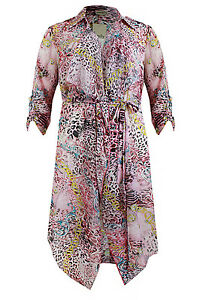 df6aeb1bd0 New Simply Be Emily Beach Cover Up Kimono Duster Coat Plus Size 16