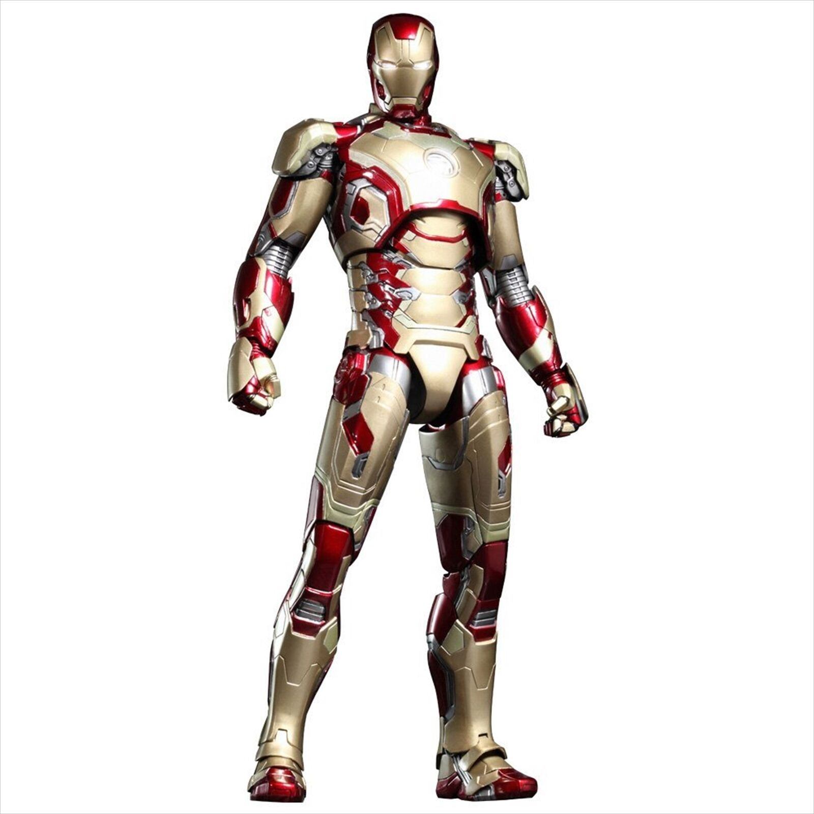Hot Toys Movie Movie Movie Masterpiece DIECAST Iron Man 3 Mark XLII 1 6 Scale Figure 1380d3