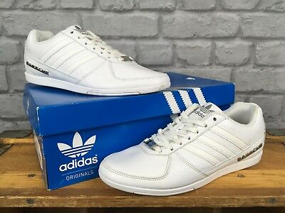 detailing 93759 c1568 ADIDAS MENS UK 6 EU 39 1/3 WHITE PORSCHE 360 1.0 DESIGN LEATHER TRAINERS |  eBay