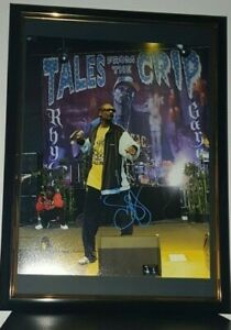 SNOOP-DOGG-HAND-SIGNED-LARGE-11X14-PHOTO-WITH-COA-FRAMED-ORIGINAL-AUTOGRAPH