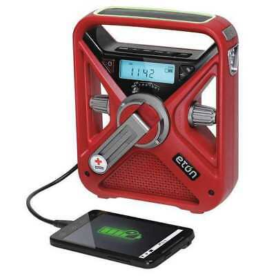 Portable Multipurpose Weather Radio,Red AMERICAN RED CROSS ARCFRX3+WXR