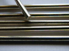 Sterling Silver Rod Solid Wire 4.0mm x 50.0mm Straight Length  Fully Hard .925