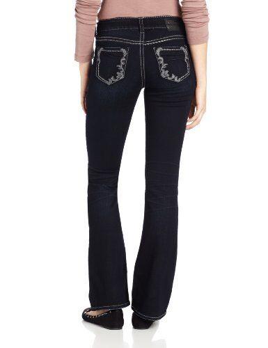 New Silver Womens Jeans Suki Bootcut 26x34 26x33 28x32 31x34