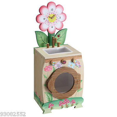 Wooden Enchanted Forest Washing Machine by Teamson