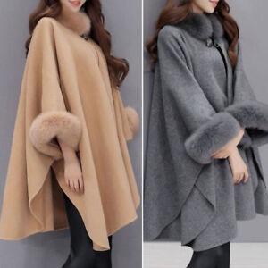 Elegant-Women-Fur-Collar-Woolen-Coat-Winter-Casual-Long-Sleeve-Cloak-Overcoat-Ne