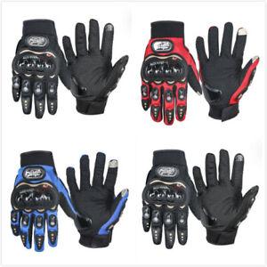 Carbon-Fiber-Motorcycle-Pro-Biker-Motorbike-Racing-Full-Finger-Gloves-M-L-XL-US