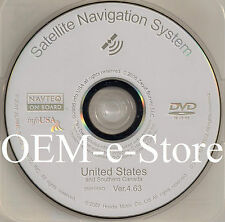 2006 2007 2008 2009 Honda Odyssey Pilot Ridgeline Navigation DVD U.S CANADA Map